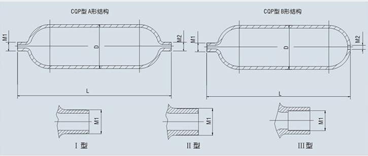非隔离式蓄能器外形尺寸