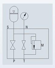 蓄能器安全球阀结构原理